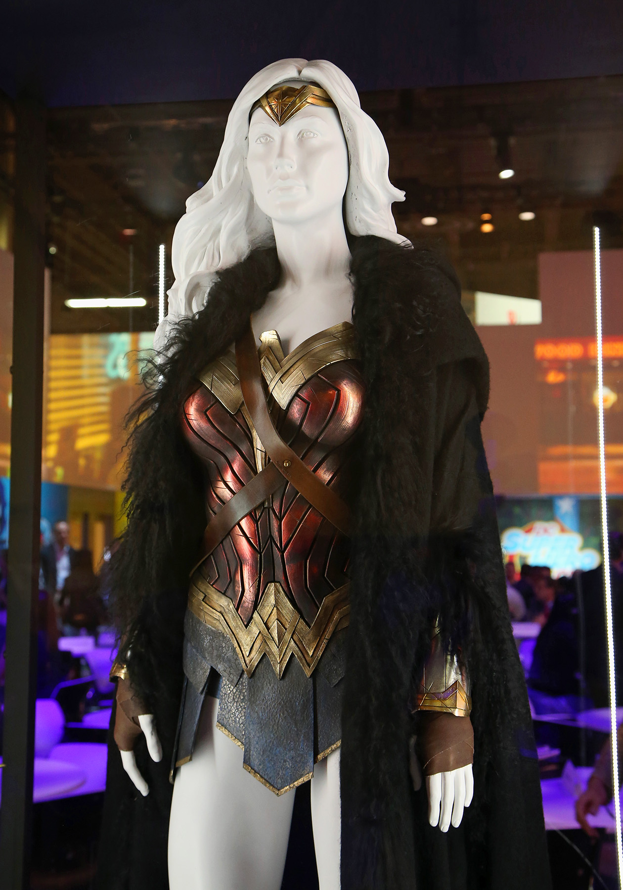 Wonder Woman costume 2017