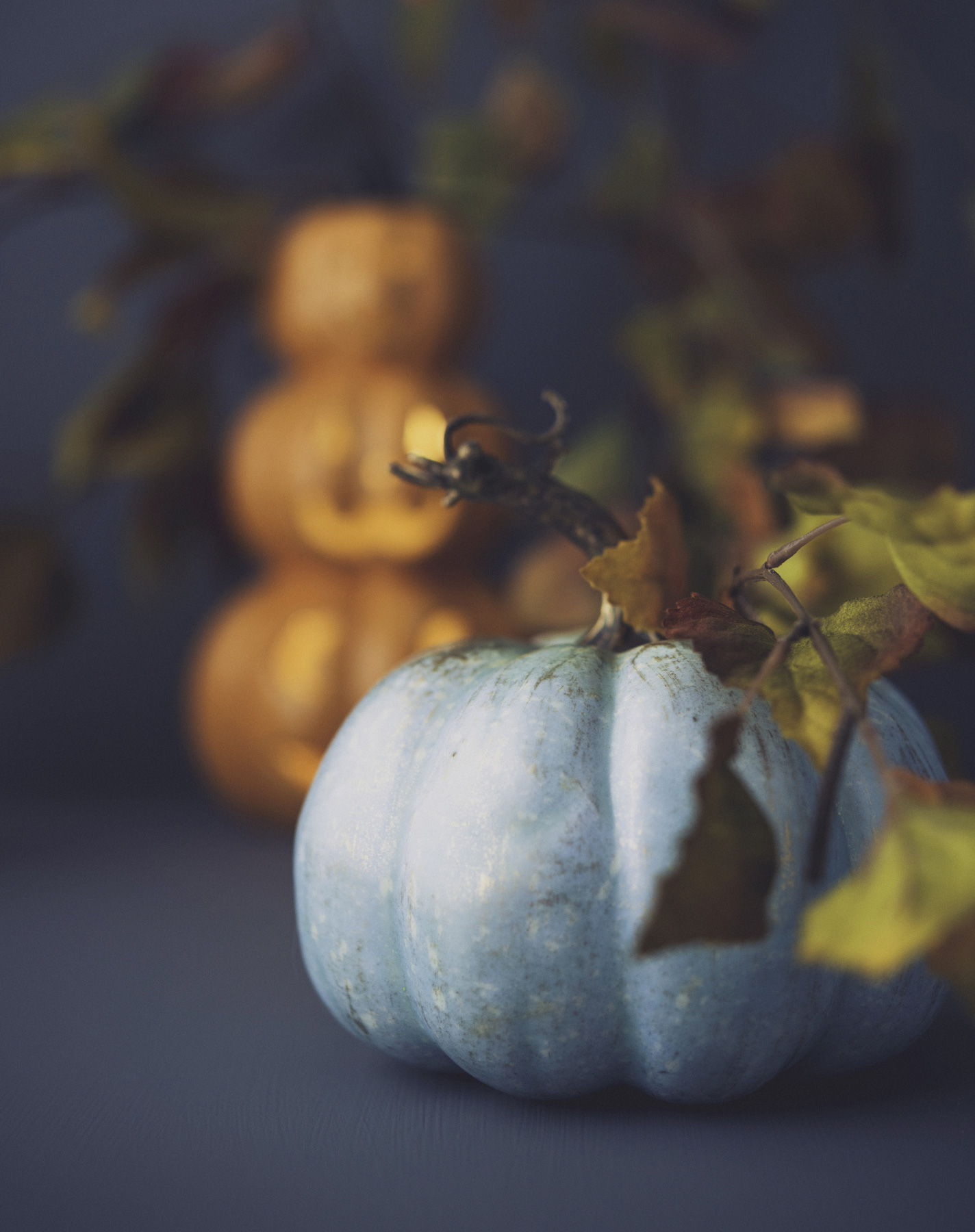 Teal Pumpkin for Halloween