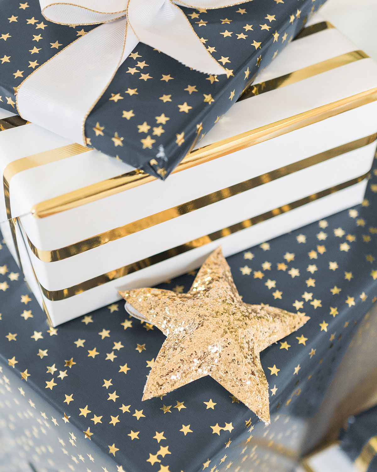 Sugar Paper Target Navy Wrapping