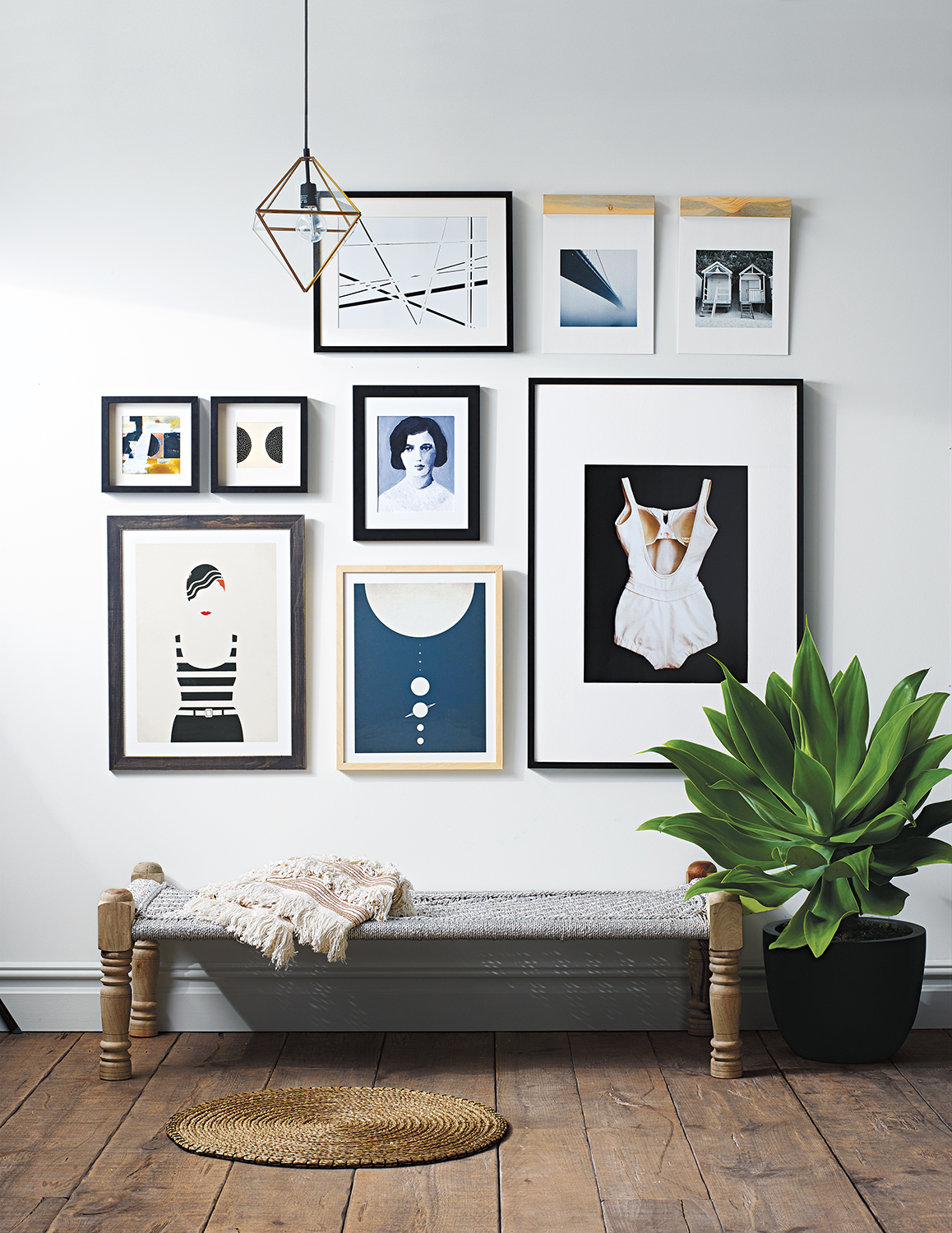 Gallery Wall: Graphic Grid