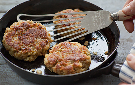 Savory Stuffing Cakes
