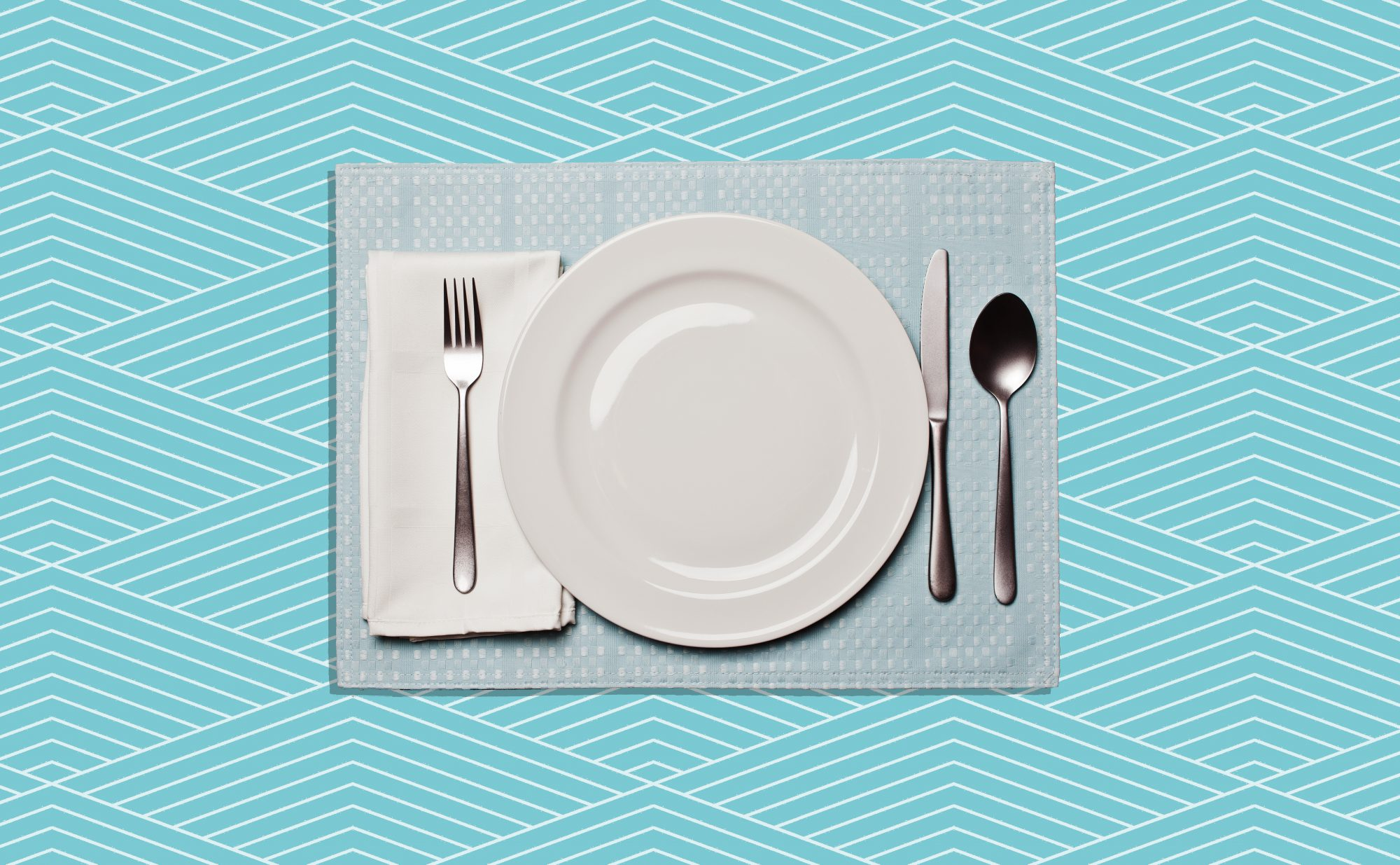 How to Set a Table, diagram of how to set a table properly