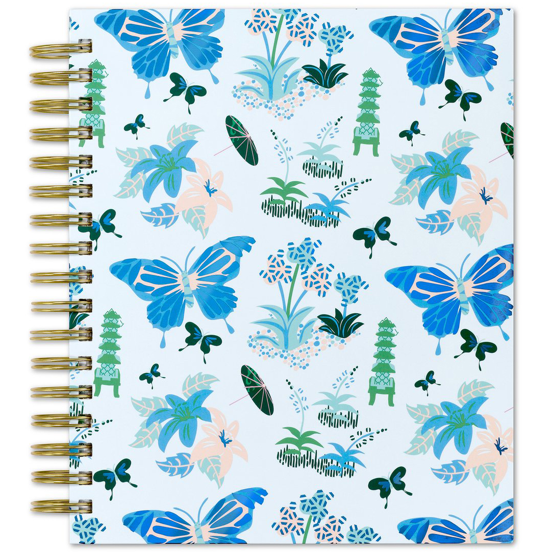 "Best Christmas gifts 2019 - Blue Sky 2020 Daily Planner by Dabney Lee in ""Butterfly Garden"""