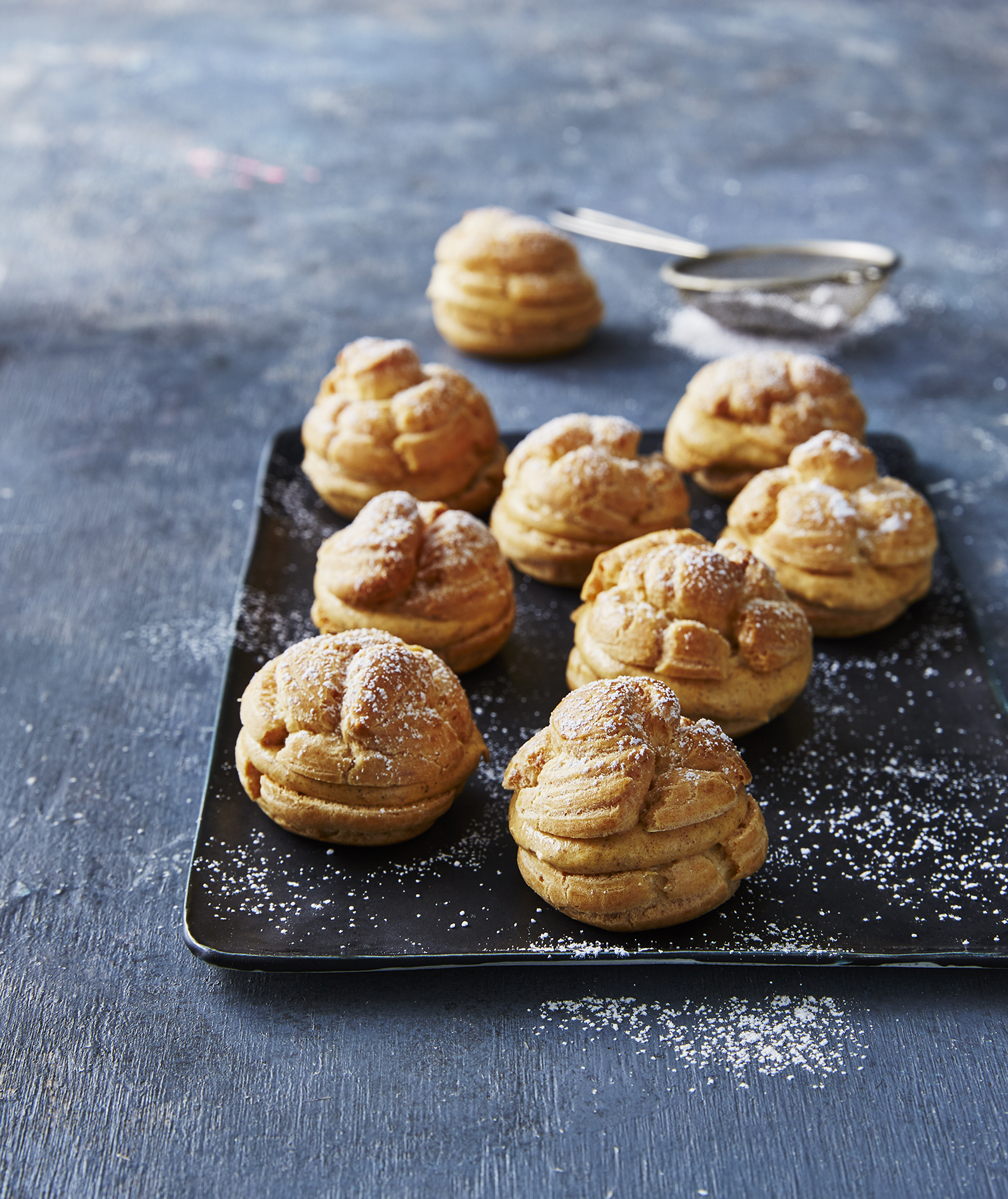 pumpkin-cream-puffs