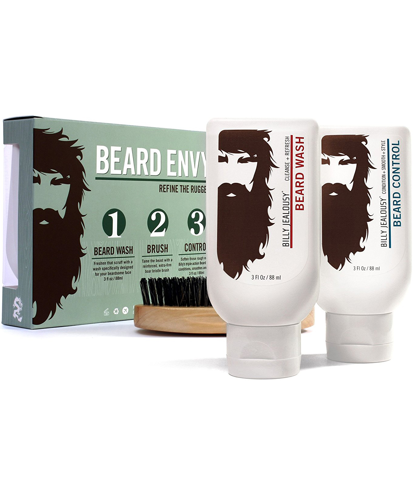 <p>Billy Jealousy Beard Envy Kit</p>