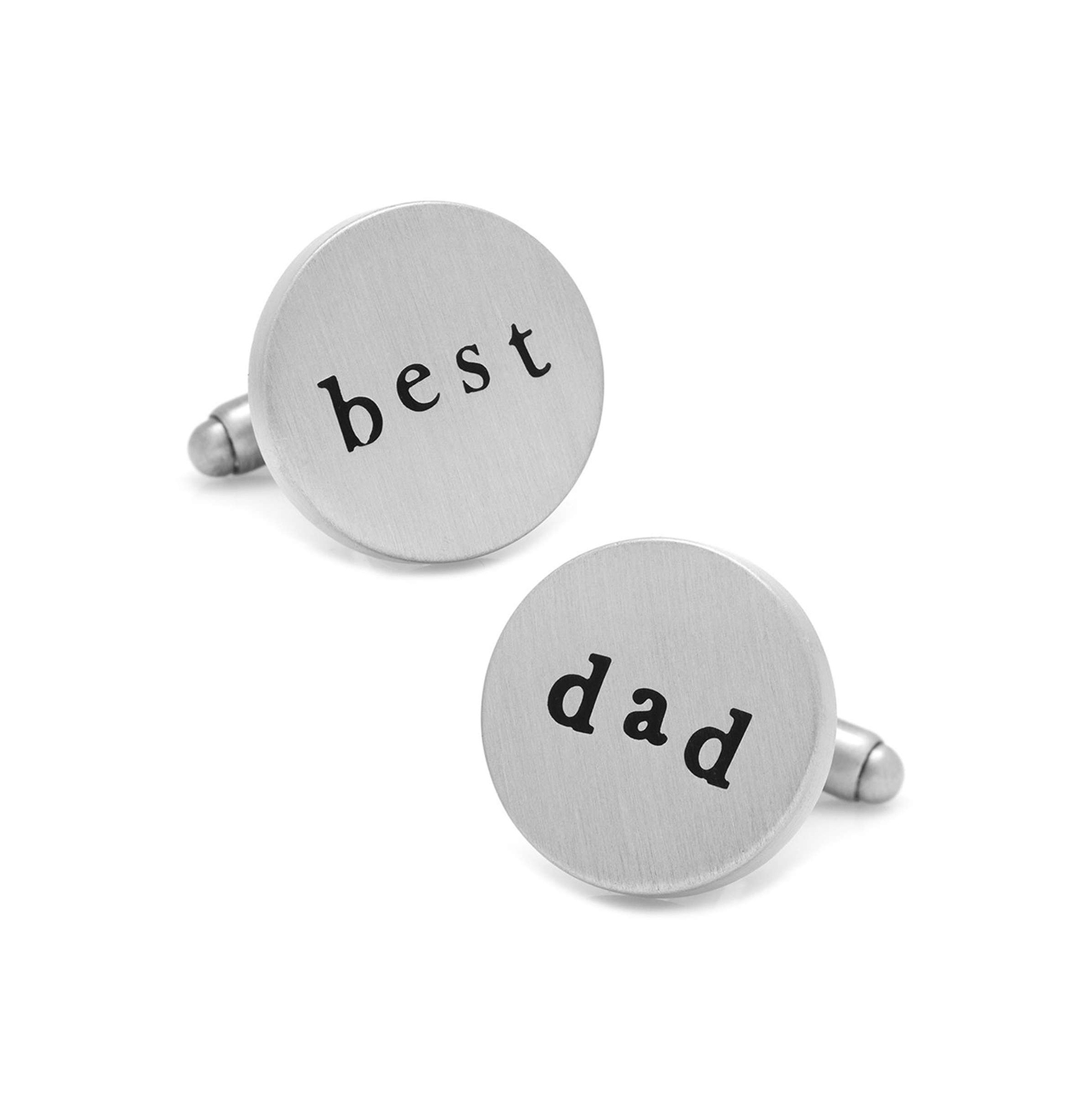 """Best Dad"" Cufflinks"