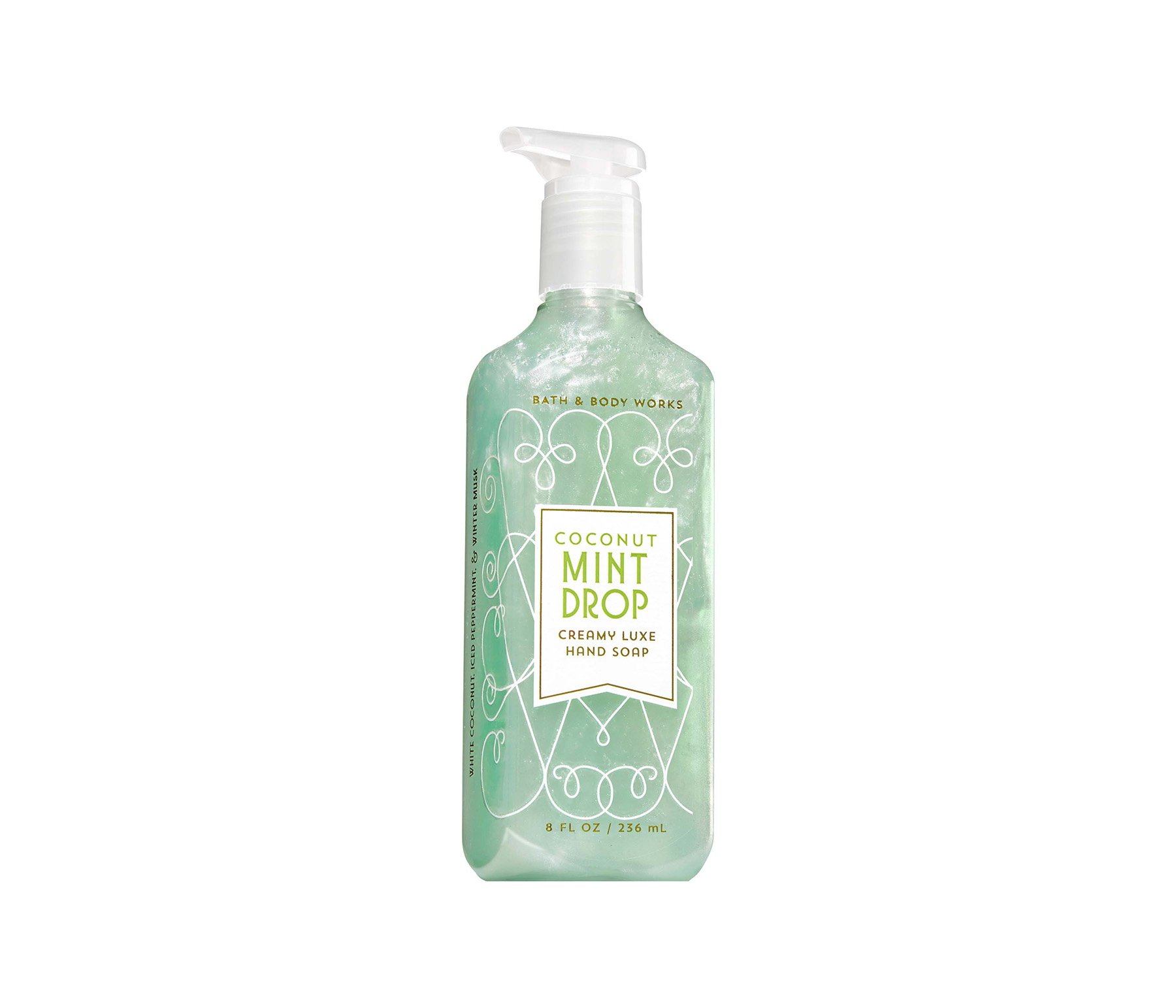 Bath & Body Works Coconut Mint Drop Creamy Luxe Hand Soap