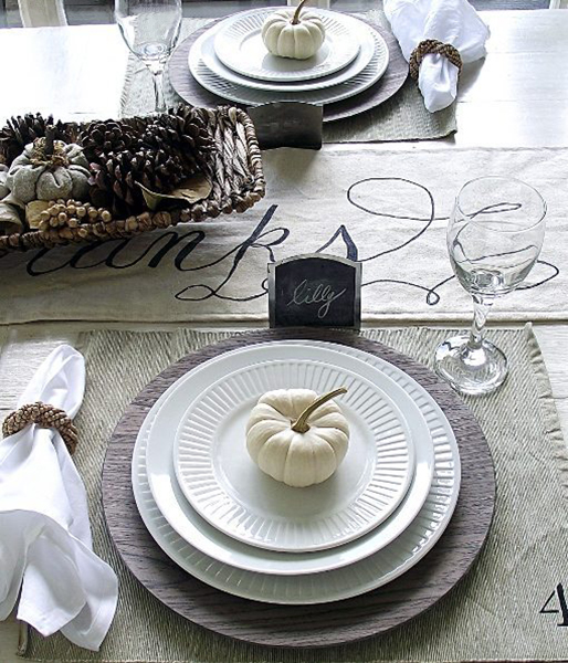 Country-Inspired Table