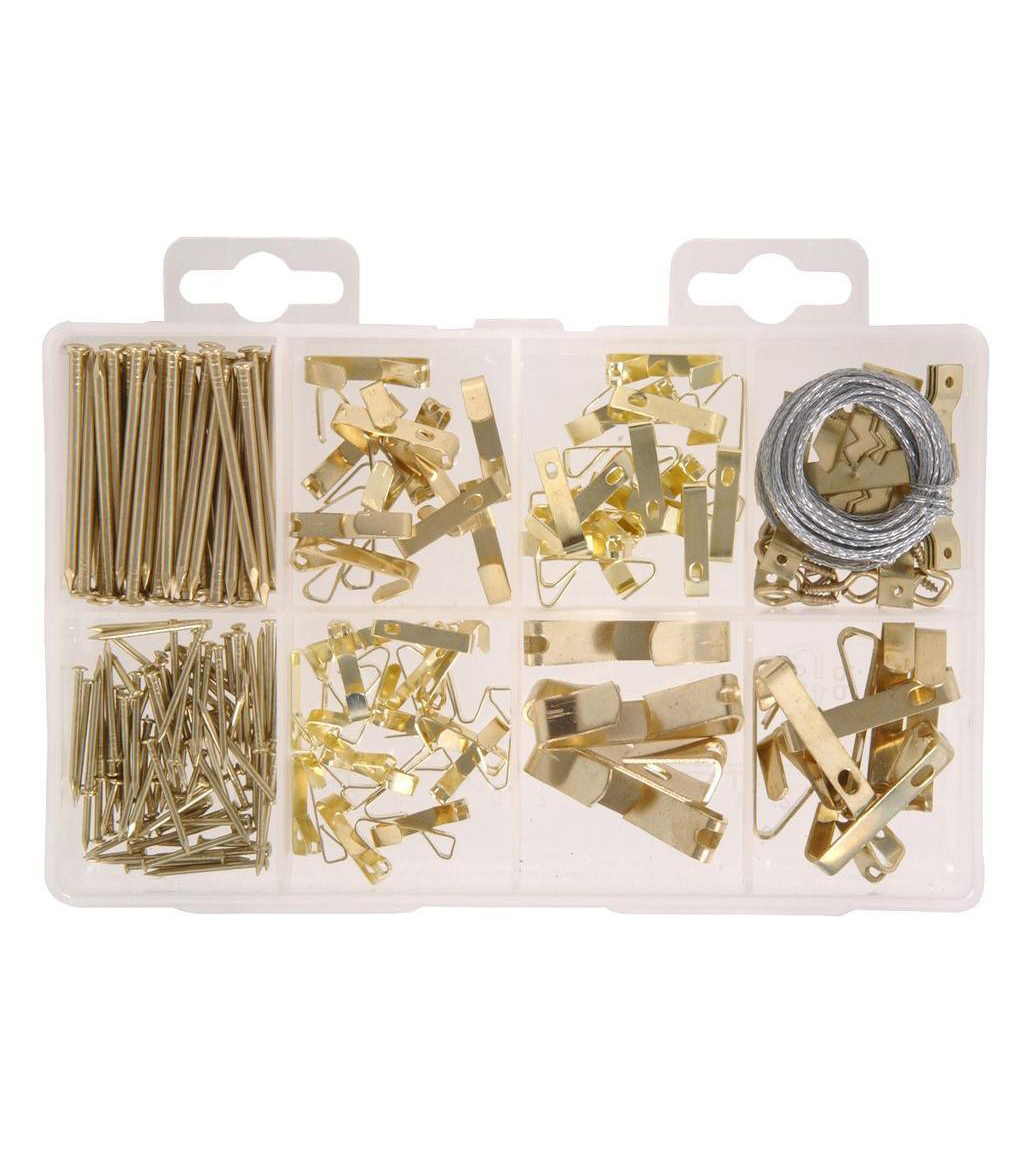 Everbilt Brass Picture Hanging Kit