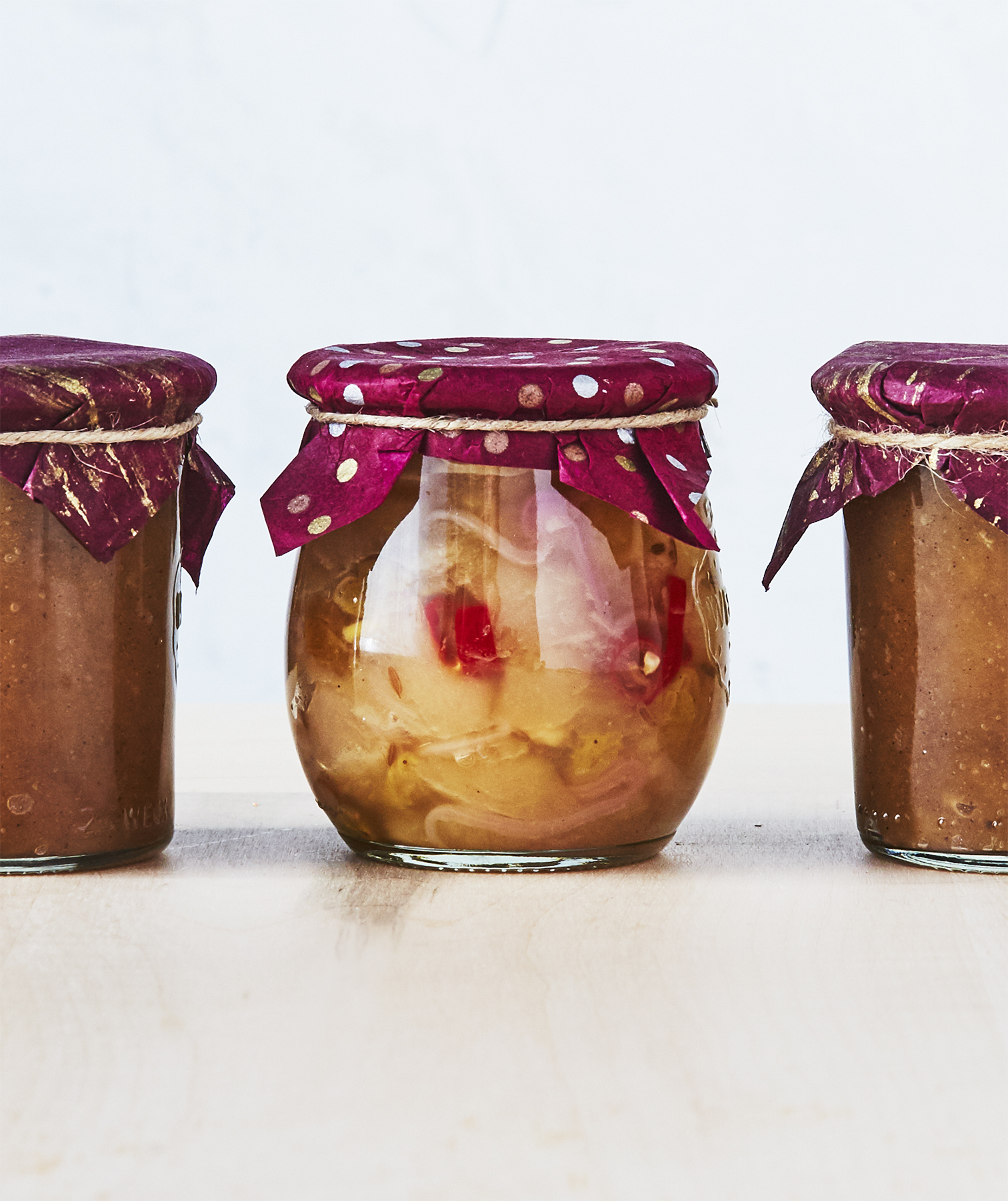 Ginger-Apple Chutney
