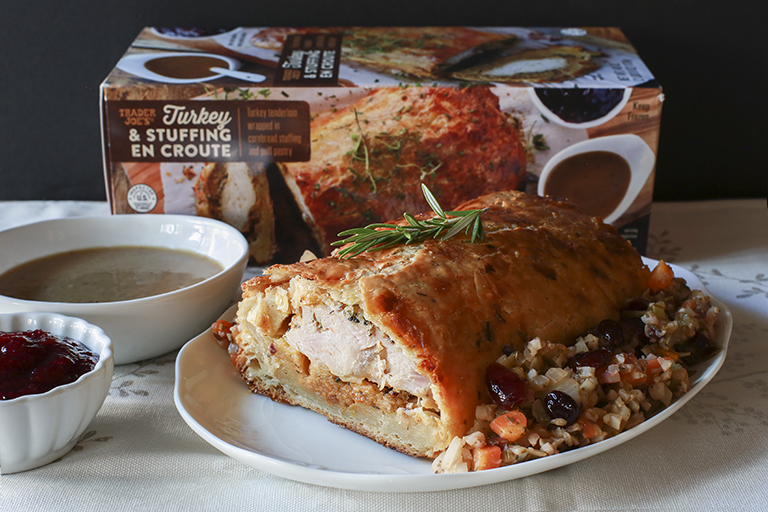 Trader Joe's Turkey and Stuffing en Croute