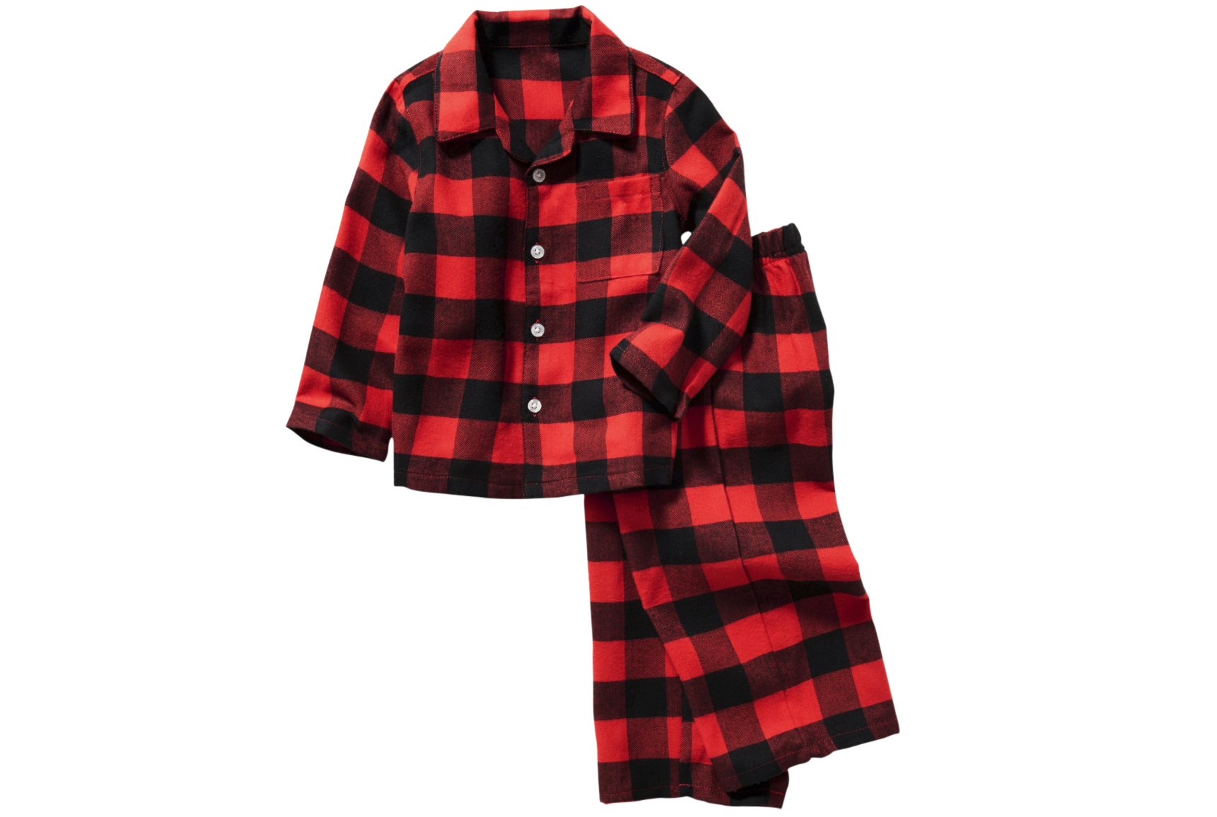 Two-Piece Flannel Sleep Set for Toddler & Baby