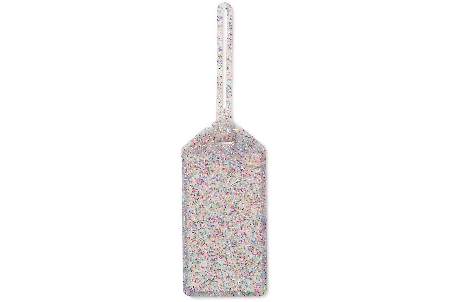 Kate Spade New York Glitter Luggage Tag