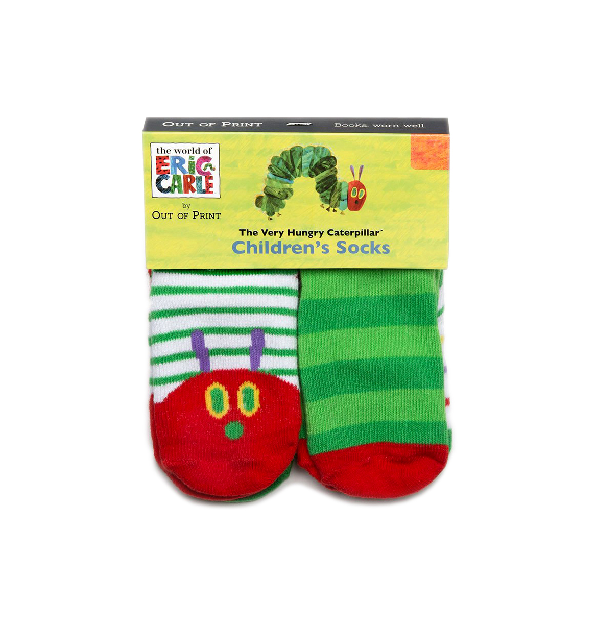 The Very Hungry Caterpillar Toddler Socks
