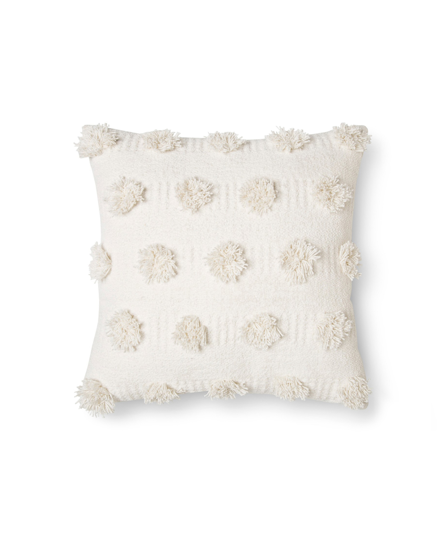 Cream Pop Dot Pillow