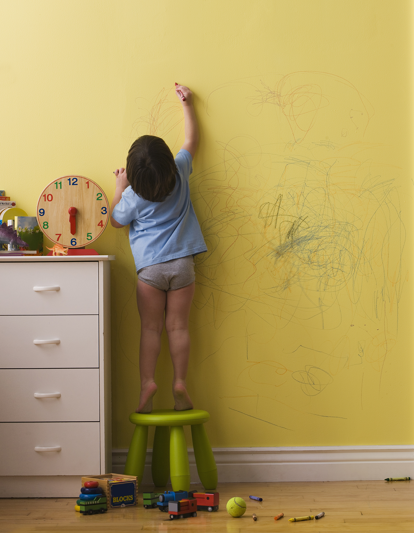 You Have To See This Parents Response His Kid Drawing On The Walls