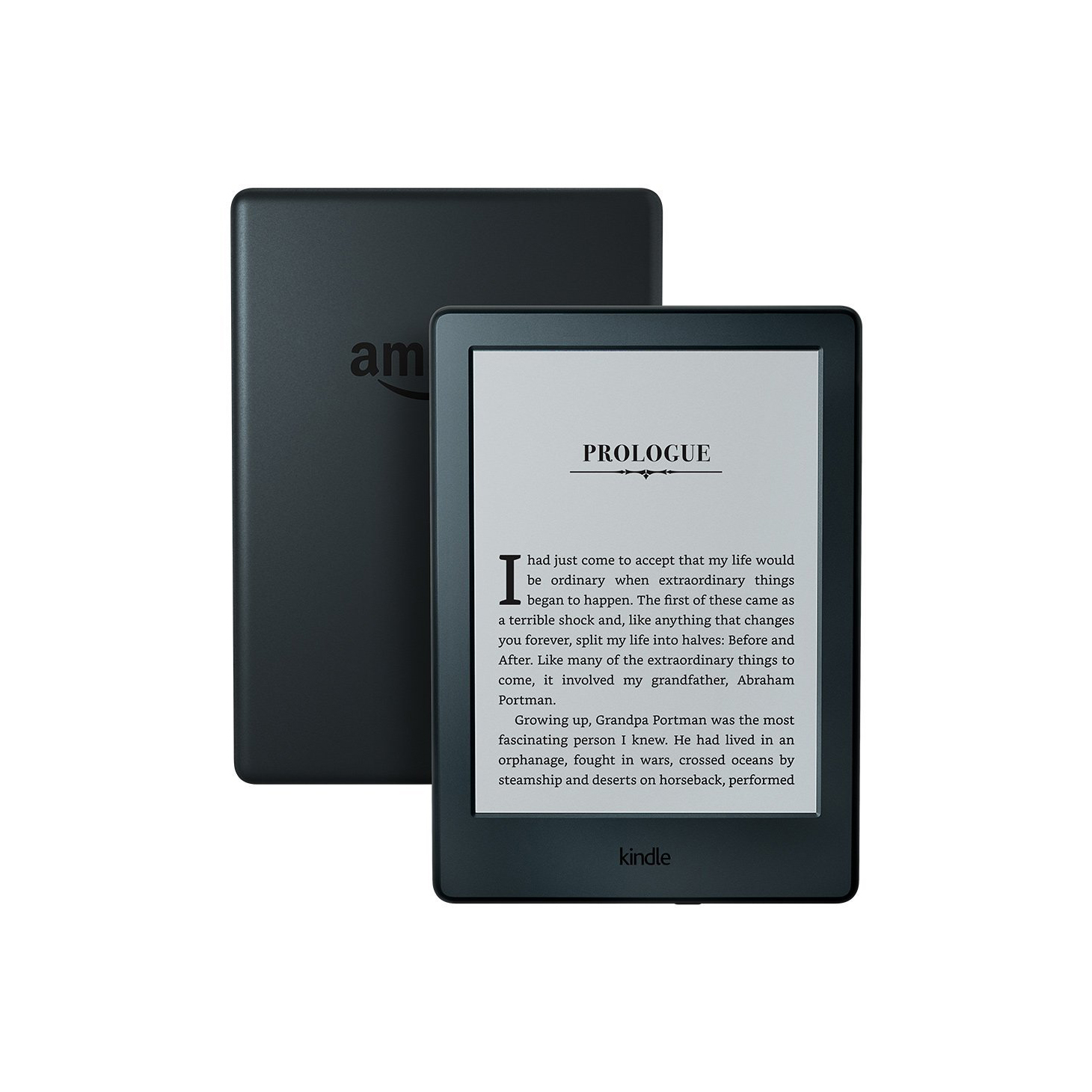Amazon Kindle + Preloaded Books