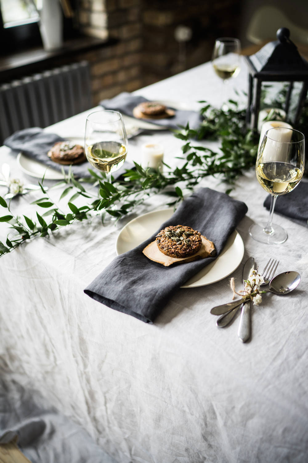 Moody and Dark Tablescapes