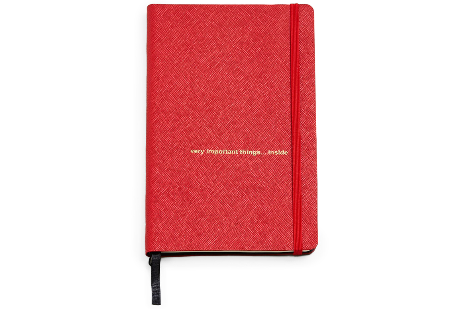 Saffiano-Effect Notebook