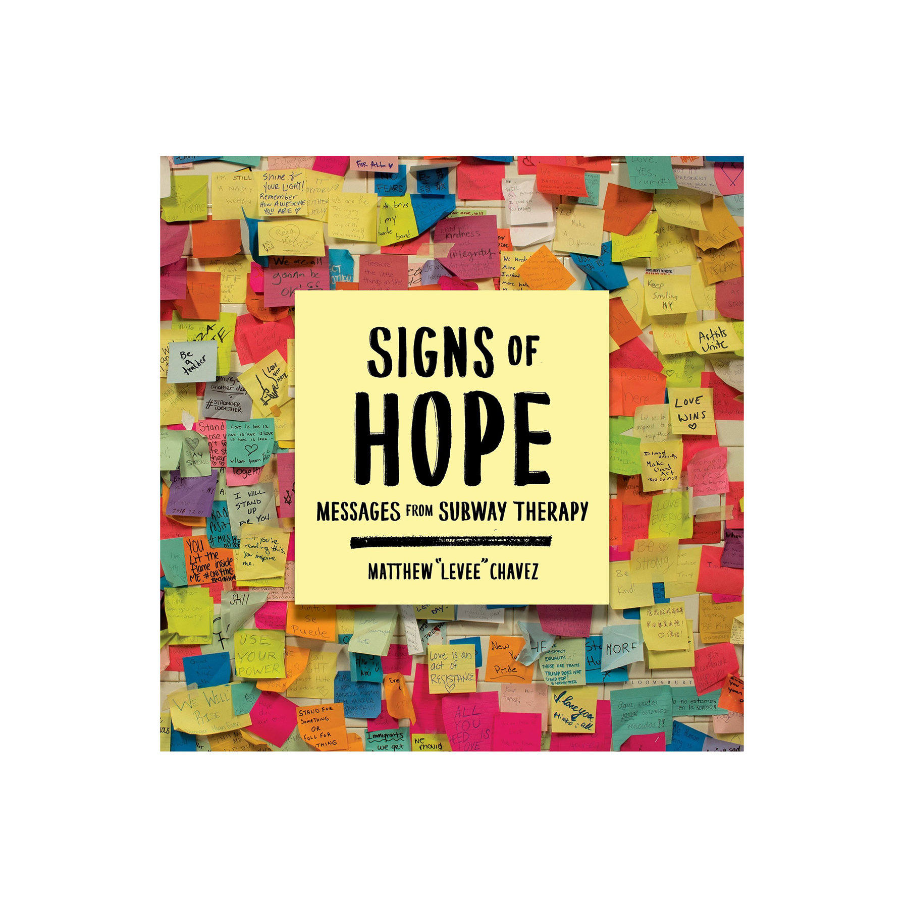 "Signs of Hope, by Matthew ""Levee"" Chavez"