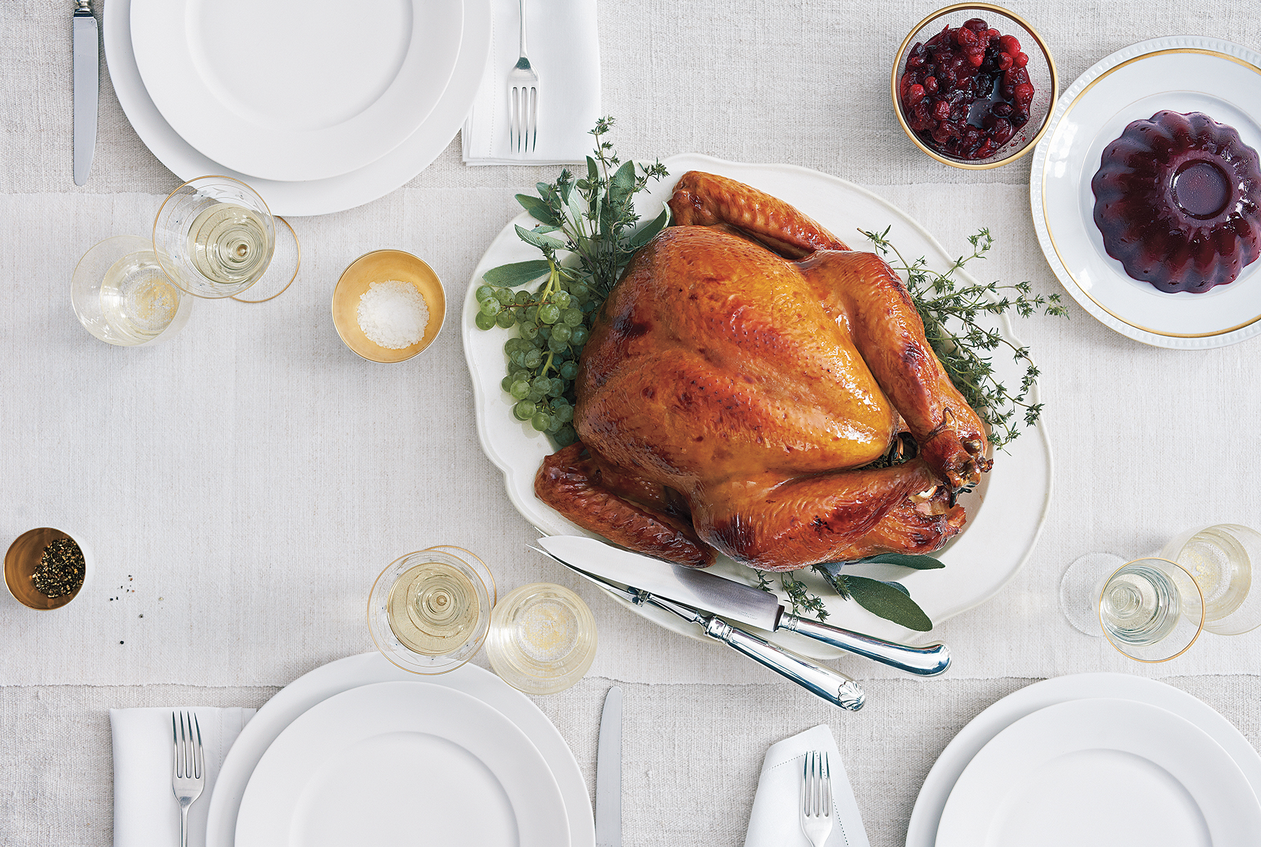 No Time to: Defrost the Turkey