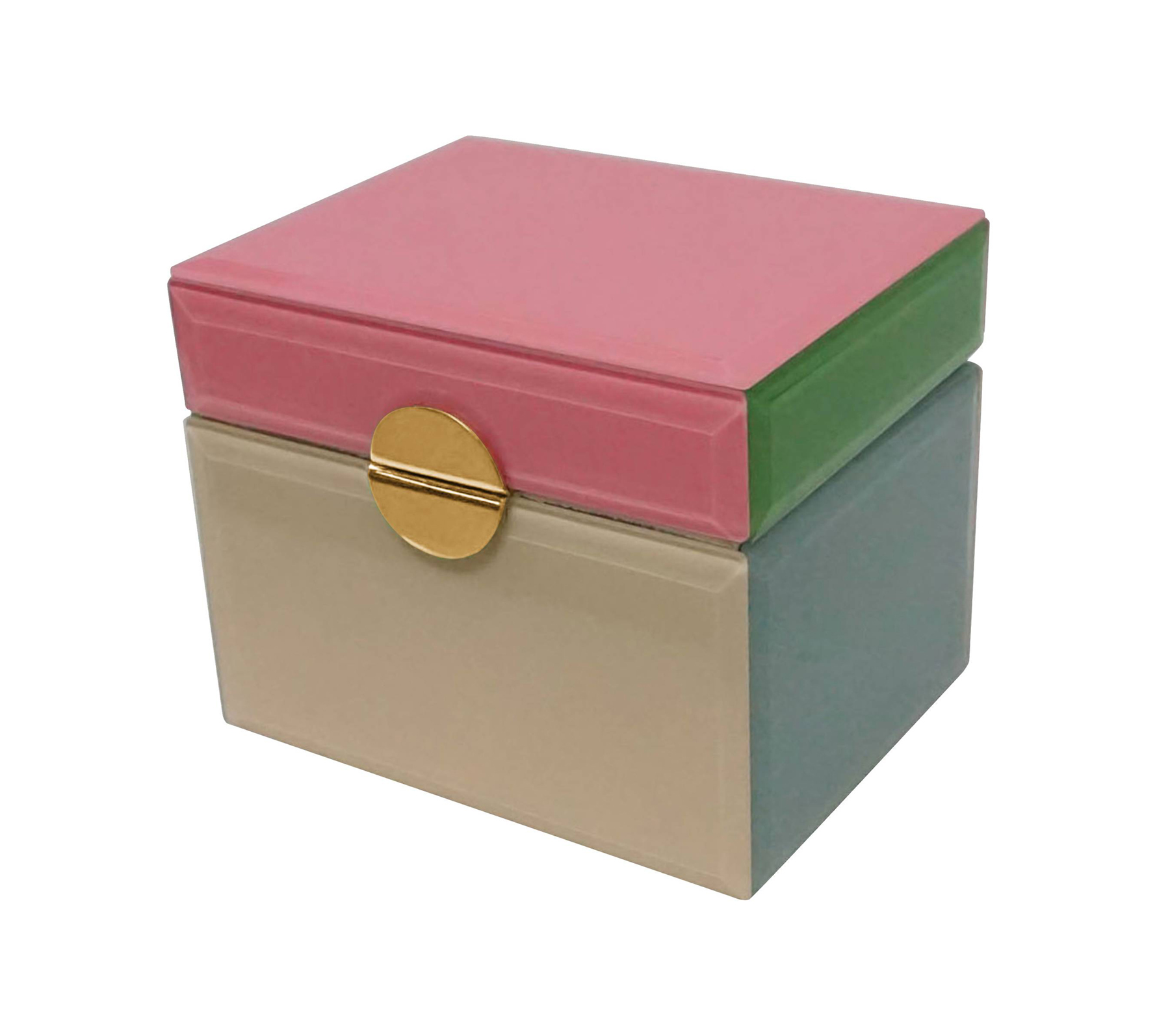 Color Block Jewelry Box