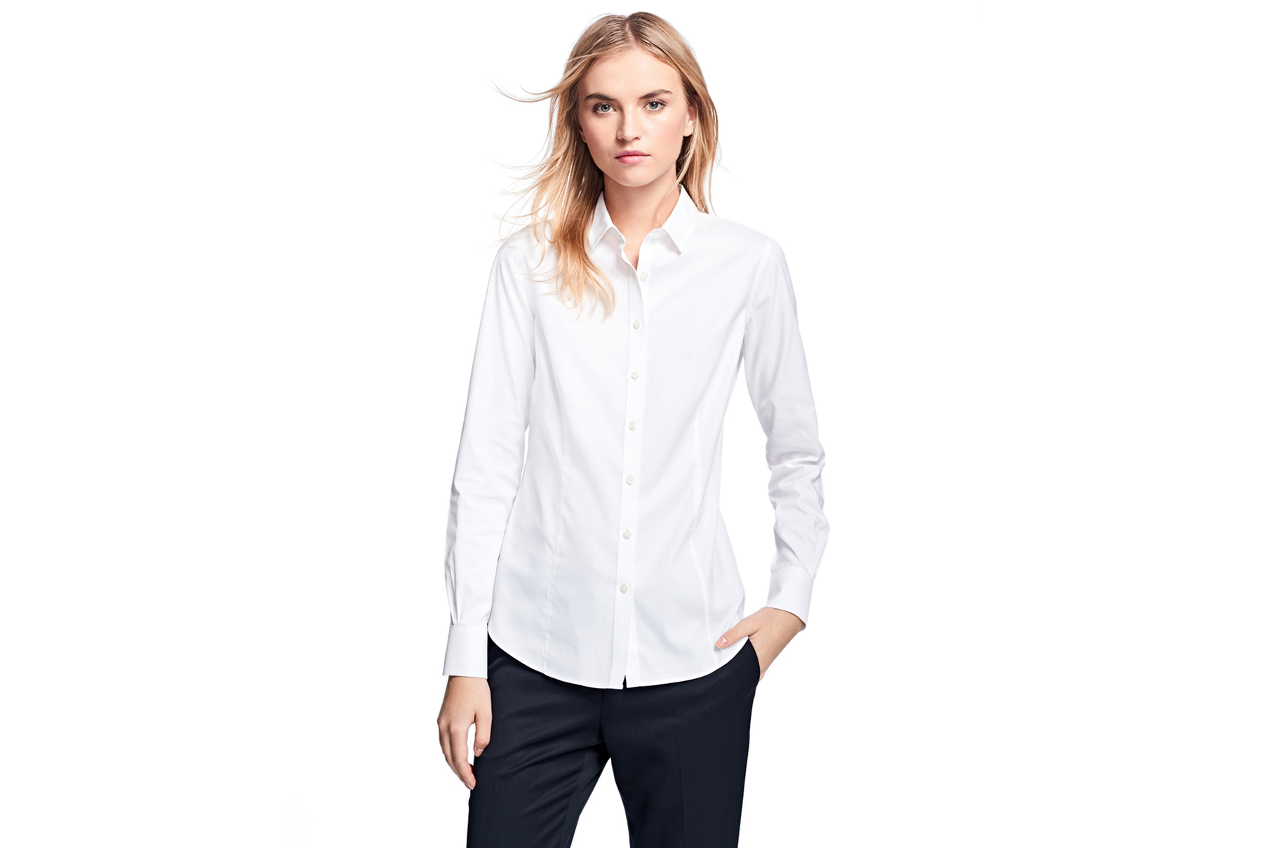 Brooks Brothers Non-Iron Tailored-Fit Dress Shirt