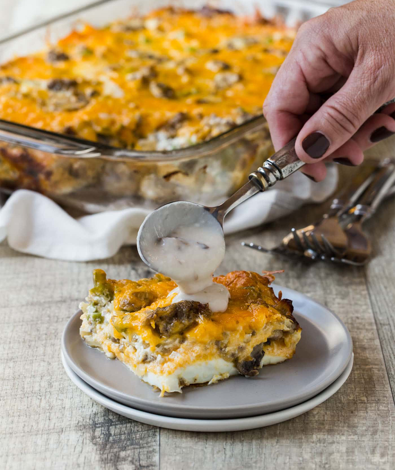 43 Easy Christmas Breakfast Casseroles To Make Ahead Or