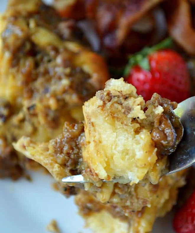 Apple Butter Breakfast Bake