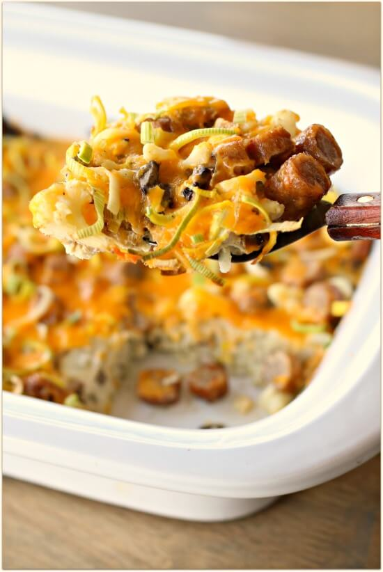 Low-Carb Slow Cooker Breakfast Casserole