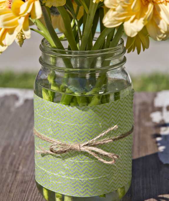 Flower Pot Mason Jar