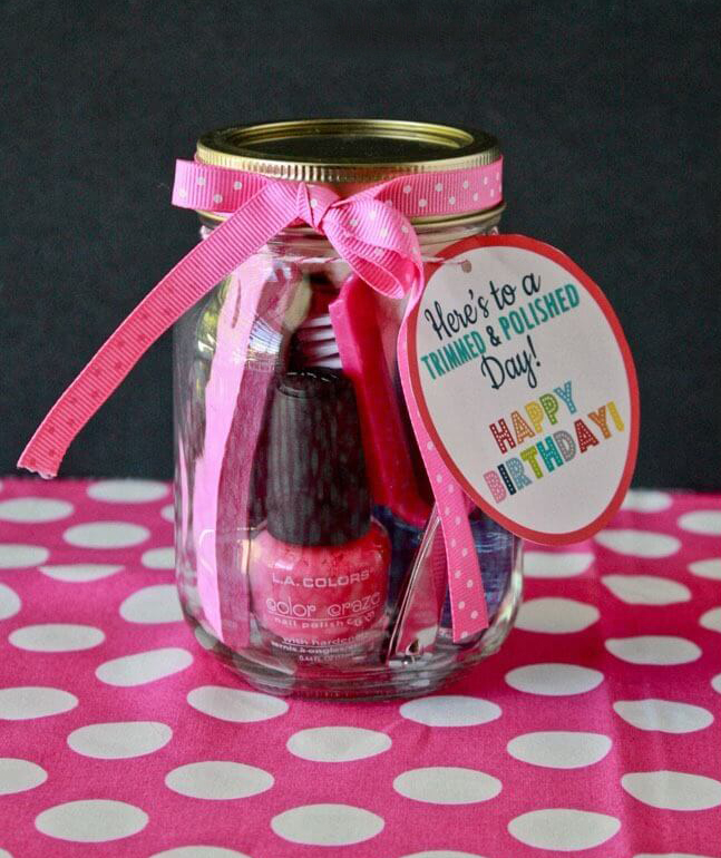 Manicure in a Jar