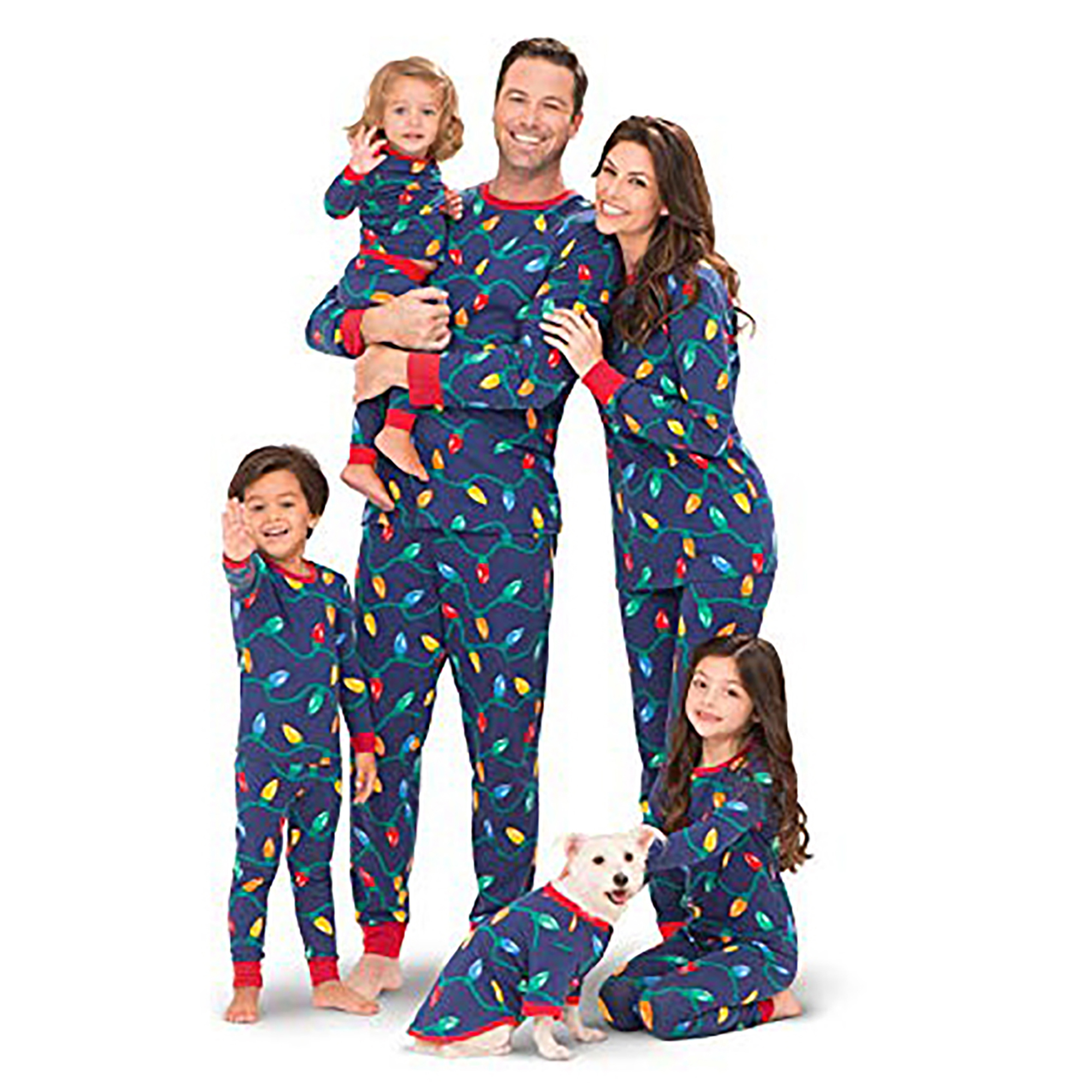 pajamagram matching christmas pajamas - Walmart Christmas Pajamas