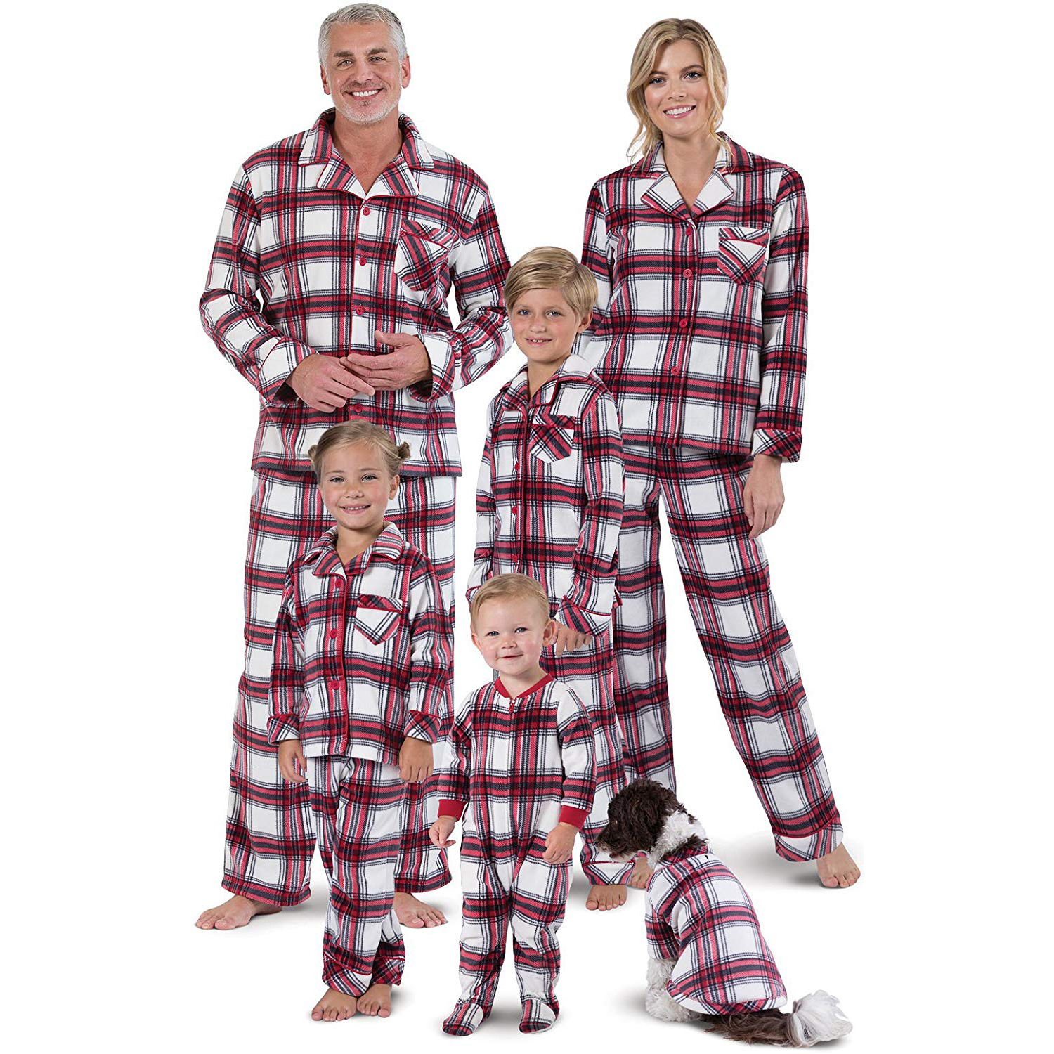 Matching Family Christmas Pajamas.16 Matching Christmas Pajamas The Whole Family Will Love