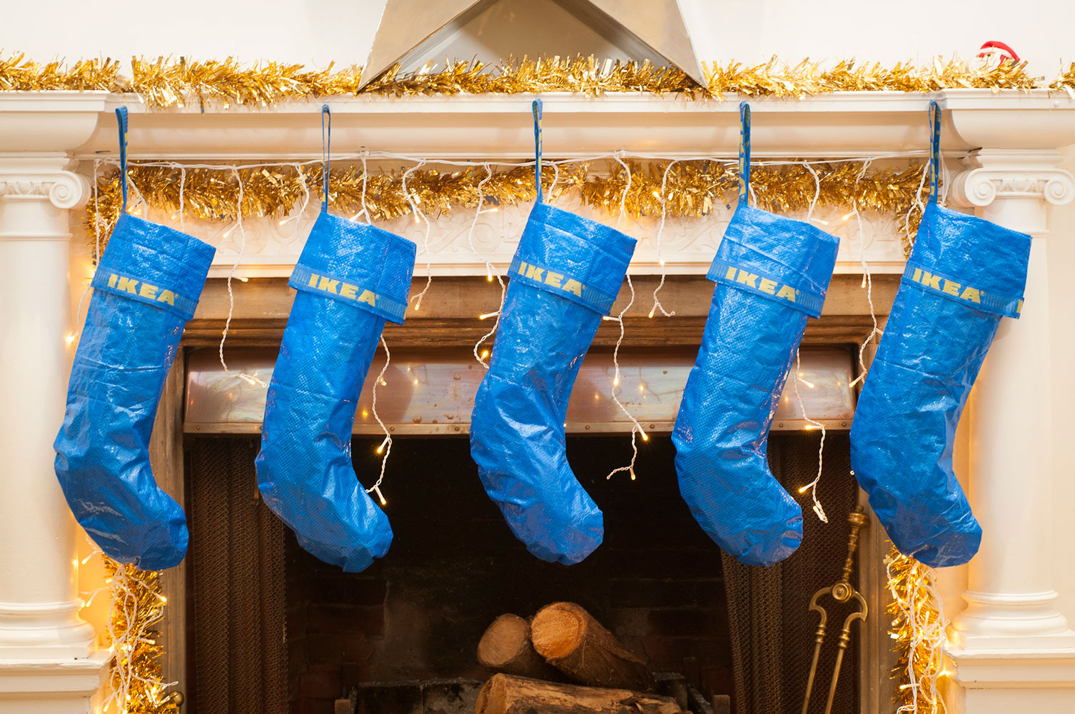 IKEA Bag Holiday Stockings Exist for Superfans
