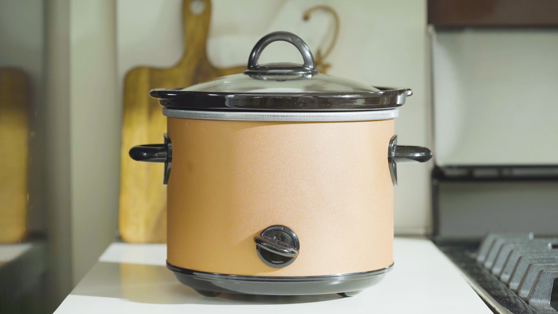 Spray Paint Slow Cooker