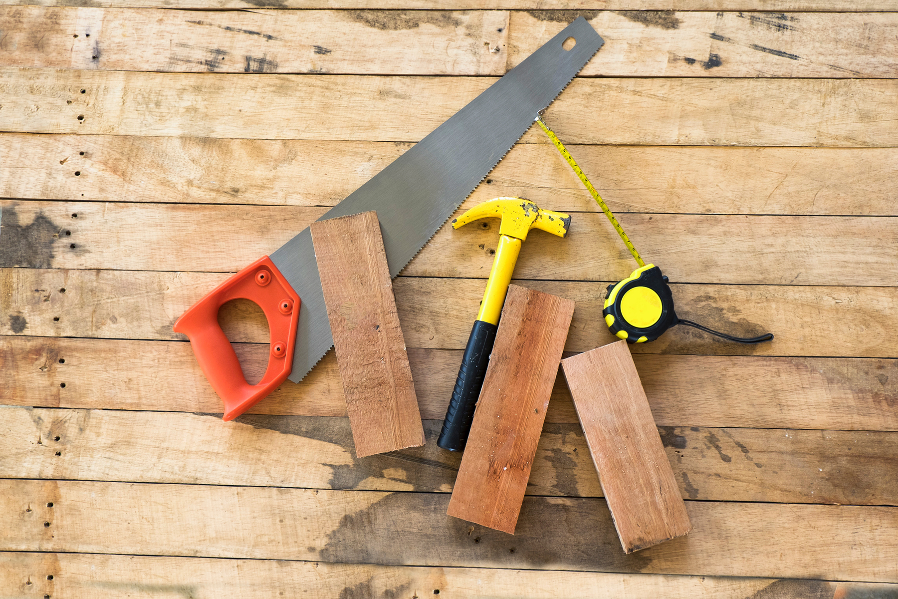 Tools and wood
