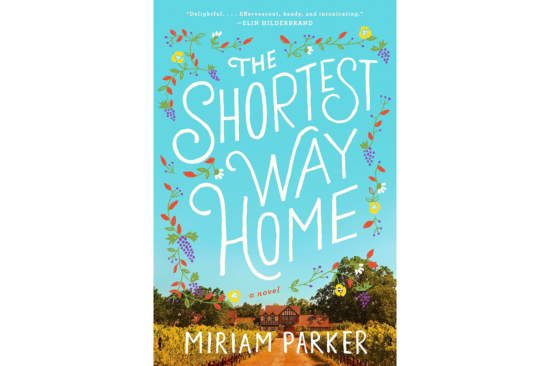 Cover of The Shortest Way Home, by Miriam Parker