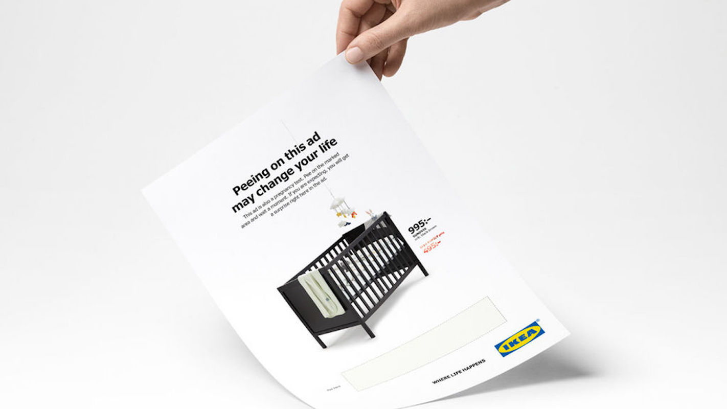 IKEA Pregnancy Advertisement