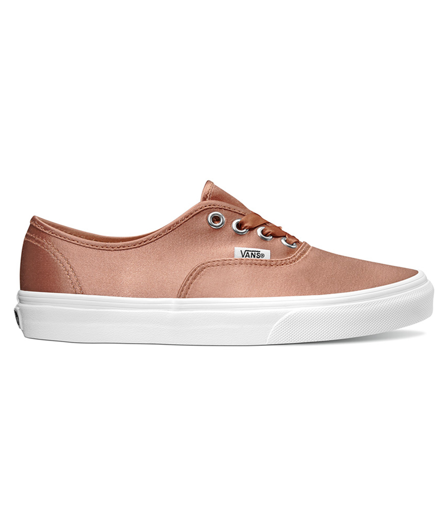 Vans Rose Gold Satin Lux Sneakers