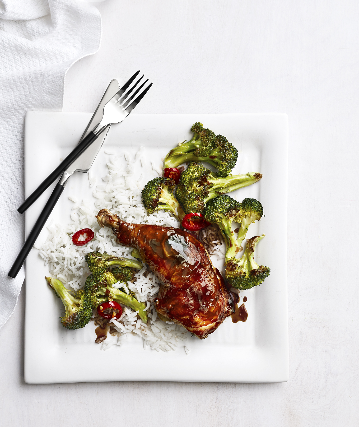 Hoisin Chicken With Broccoli