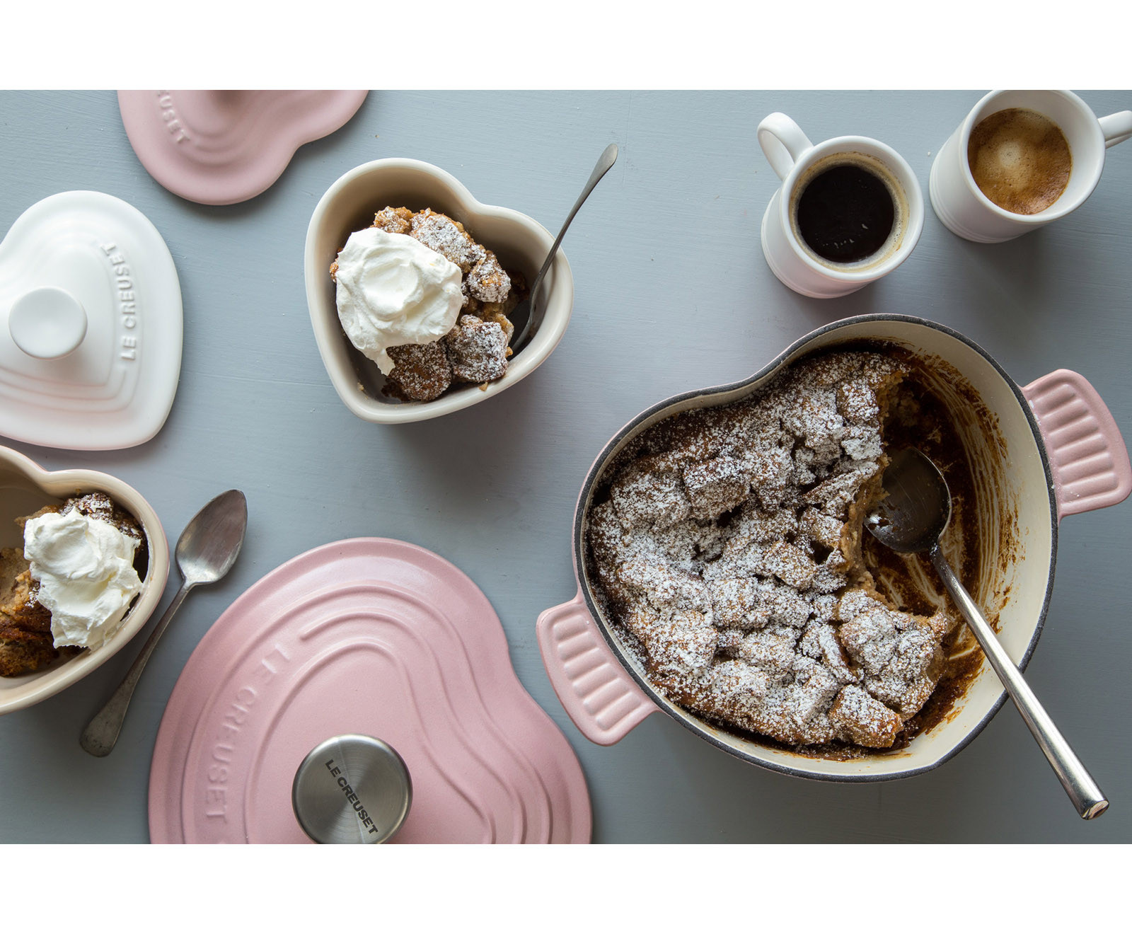 Le Creuset's Heart-Shaped Collection for Valentine's Day Is Giving Us All The Feels