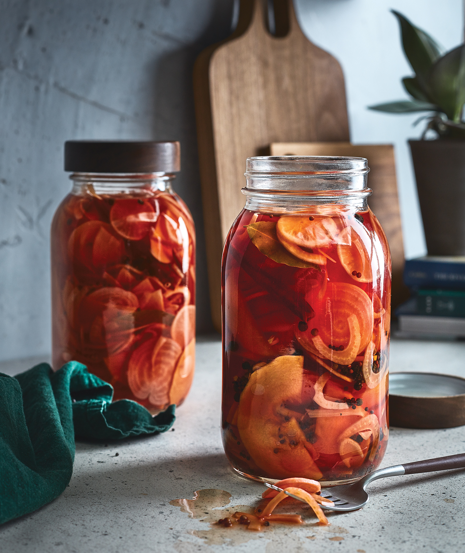 Pickled Winter Vegetables
