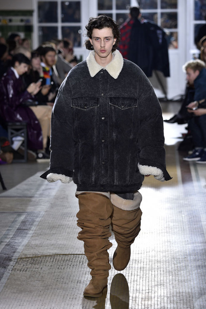 Thigh High Ugg Boots on model