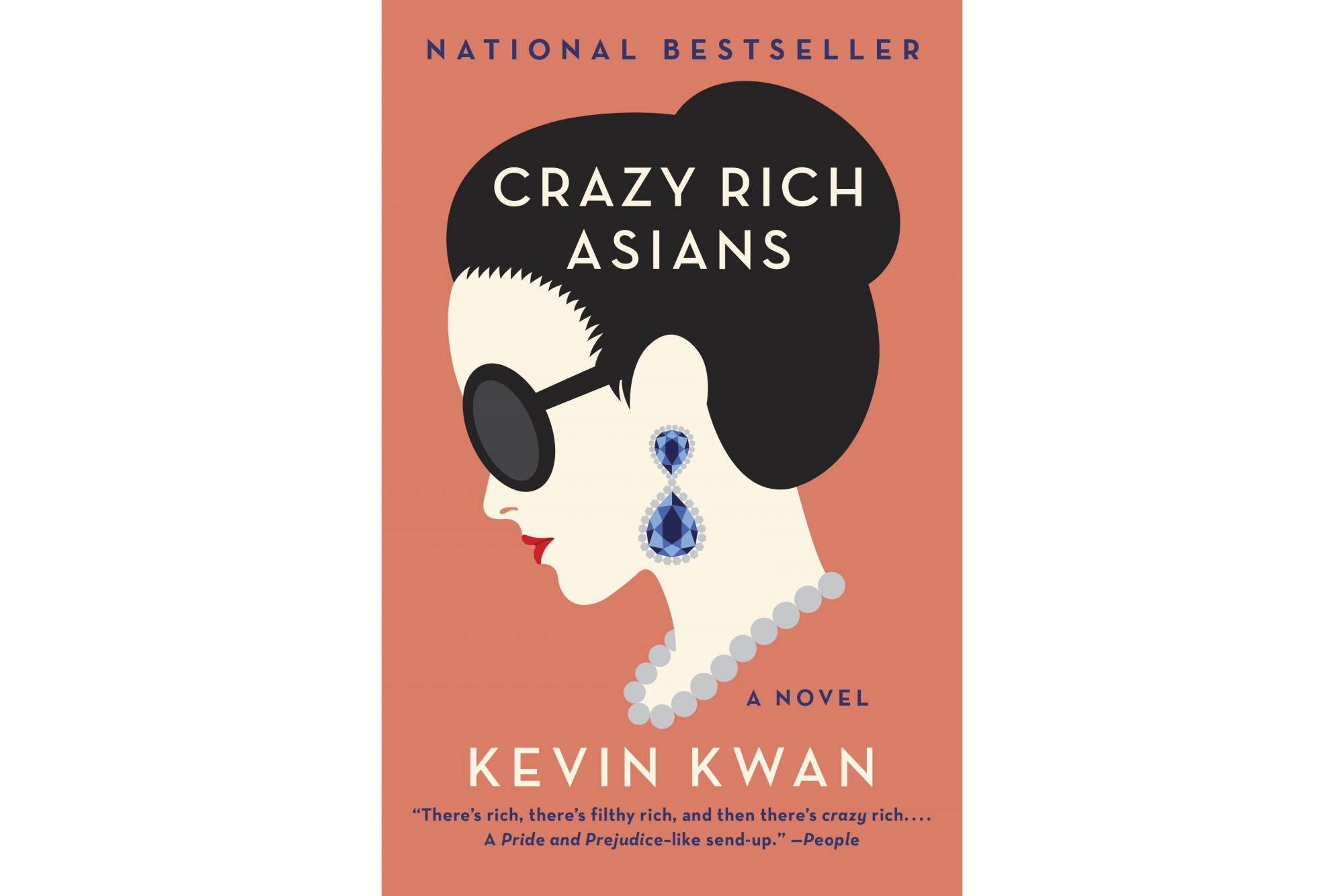 Crazy Rich Asians, by Kevin Kwan