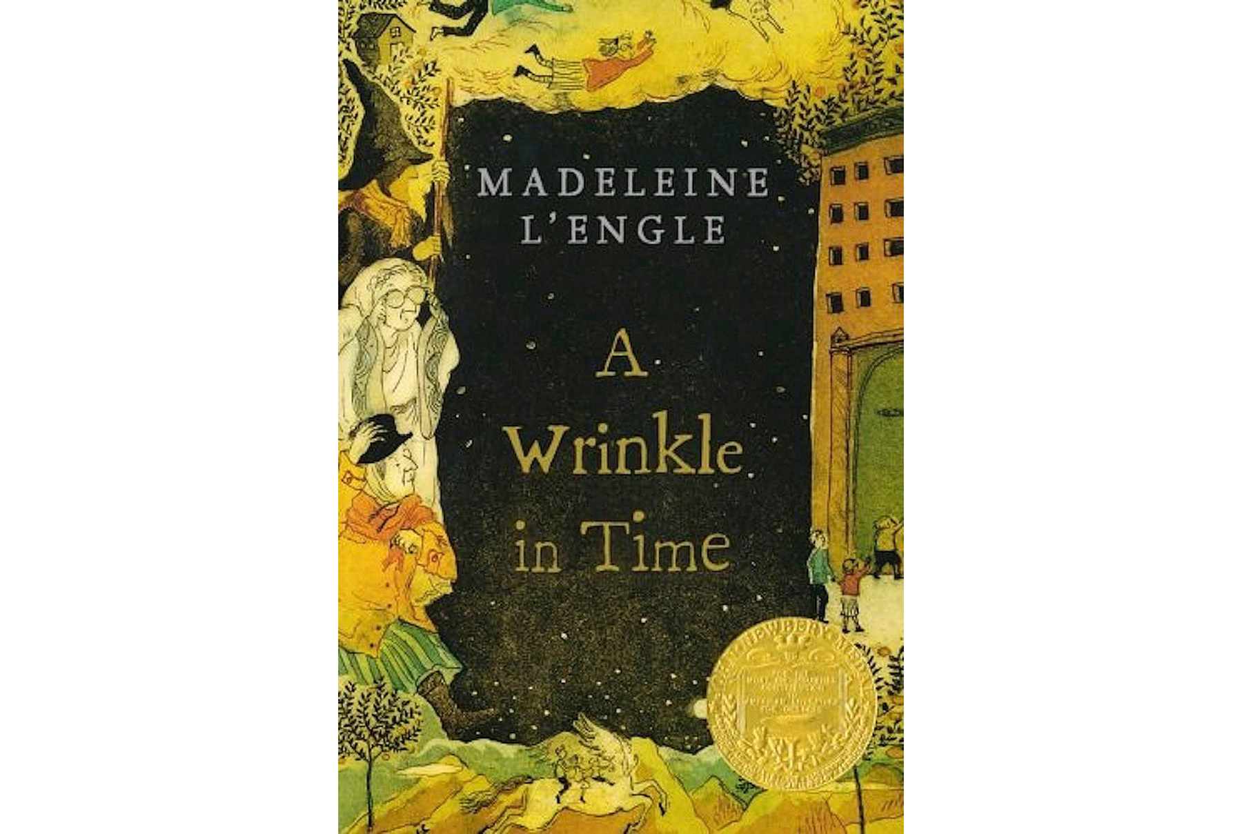 A Wrinkle in Time, by Madeleine L'Engle (FB READS)