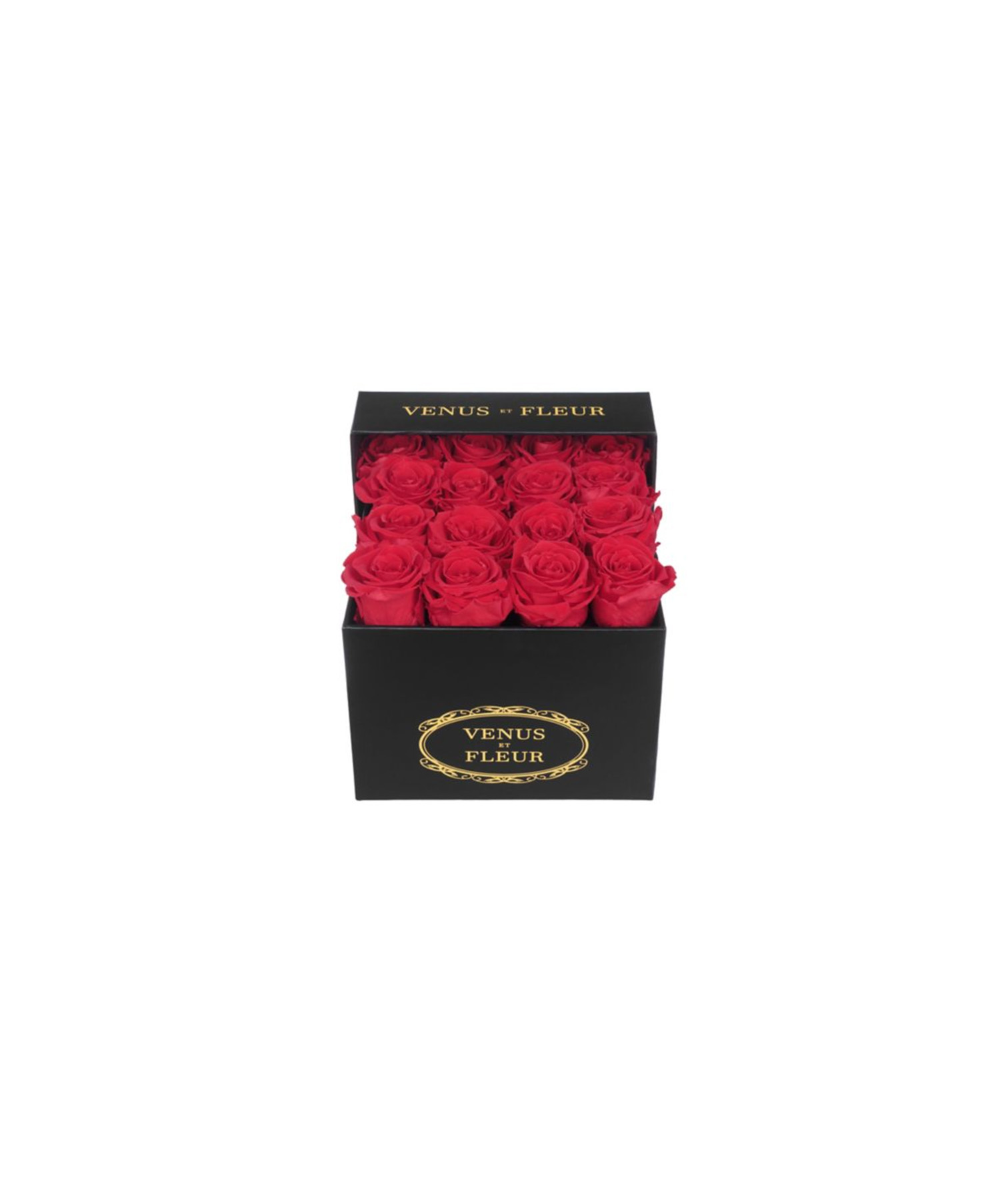 Red Eternity Roses in a Box