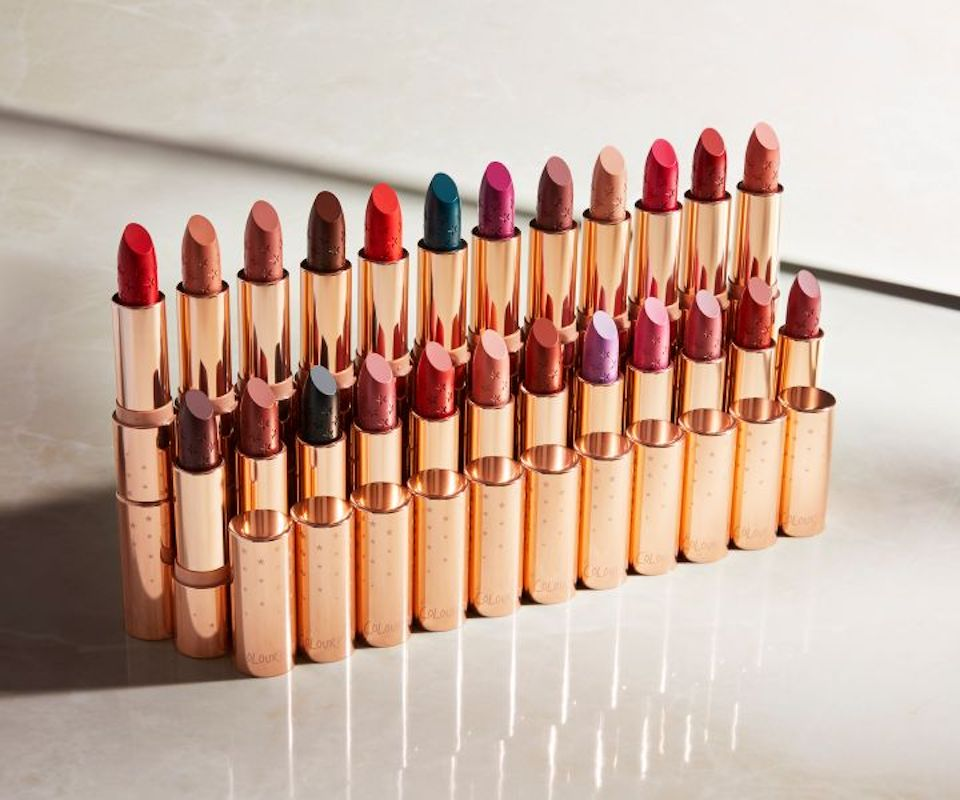 ColourPop Lux Lipsticks in rose gold tubes