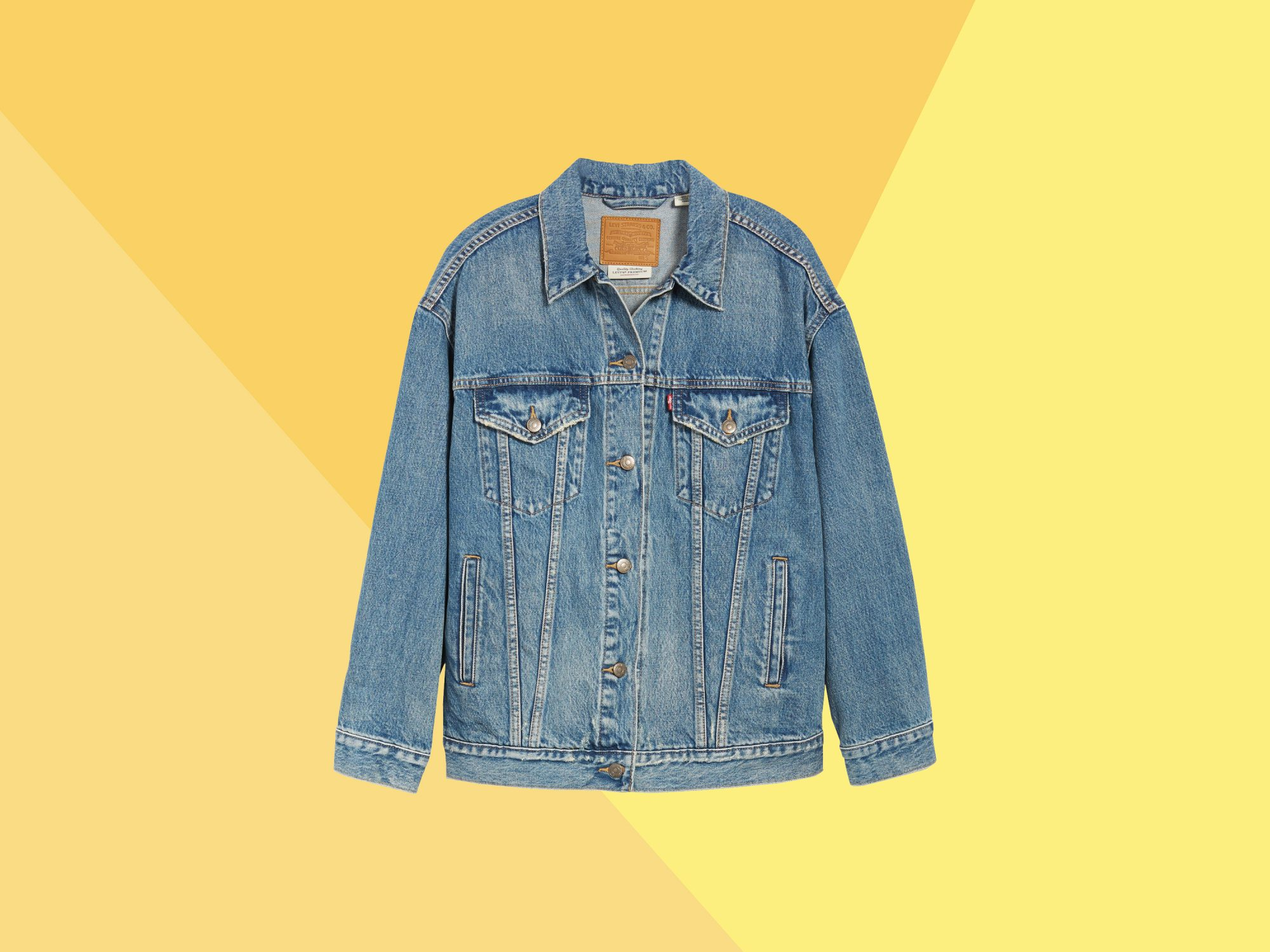 ab3a4103a1699 How to Wear a Jean Jacket With Any Outfit | Real Simple