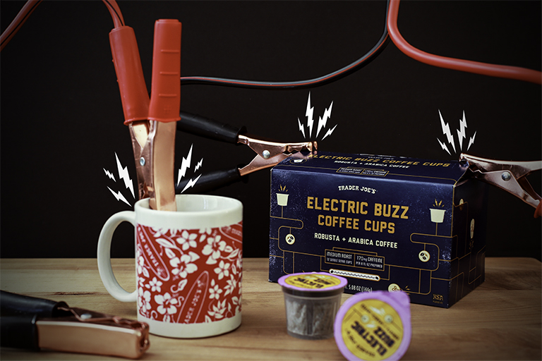 Trader Joe's Electric Buzz Coffee
